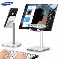 Desktop Halter Tablet Ständer Für iPad Pro 11 10 5 10 2 9 7 mini Für Samsung Xiaomi Tablet Ständer Unterstützung Remote Network lehre-in Tablet-Ständer aus Computer und Büro bei