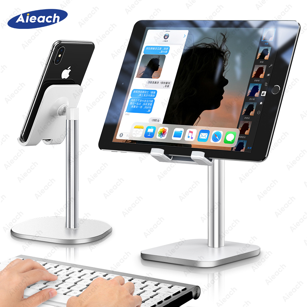 Uchwyt na biurko uchwyt na Tablet stojak na ipad Pro 11 10.5 10.2 9.7 mini uniwersalny uchwyt na telefon uchwyt na samsunga Tablet Xiaomi Stand Support
