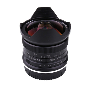 Image 5 - RISESPRAY 7.5mm f2.8 fisheye lens 180 APS C Manual Fixed Lens For Sony E Mount Hot Sale Free Shipping
