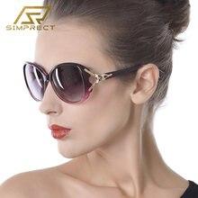 Simprect негабаритный поляризационные очки солнцезащитные женские