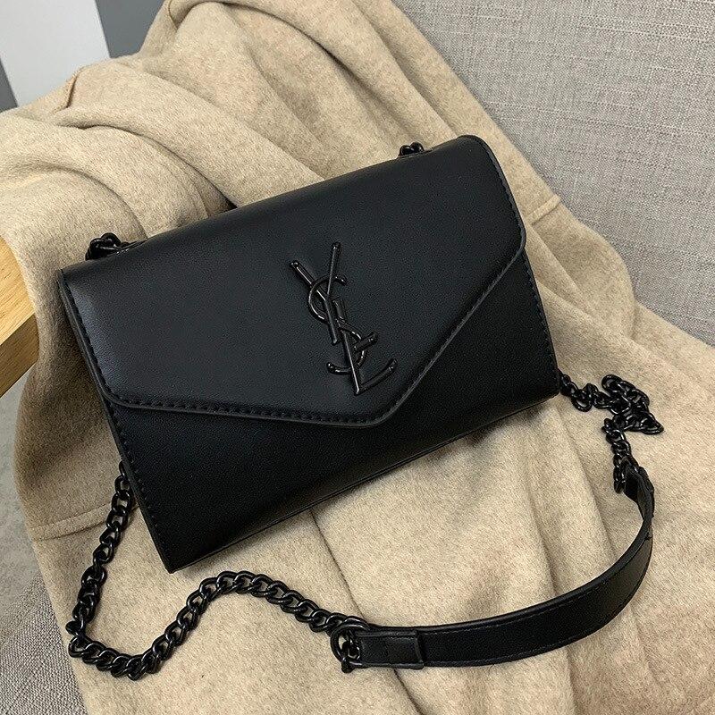 Fashion Shoulder Bag 2020 New Chain Shoulder Bag Elegant Square Ladies Shoulder Bag