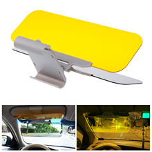 Driving-Mirror Visor Clear-View Car-Anti-Glare 1pcs Dazzling-Goggle Flip-Down Day-Night-Vision