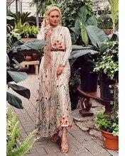Dubai Hoa Ngọt Ngào Hồi Giáo Đầm Nữ Thêu Hoa Lớn Đầm Xòe Chữ A Dài Đầm Cột Dây Hồi Giáo Quần Áo Đầm Maxi Hijab áo
