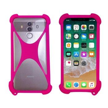 Перейти на Алиэкспресс и купить Универсальный мягкий эластичный силиконовый чехол-бампер для мобильного телефона AllCall Мадрид S5500 S1 Rio X Atom Alpha
