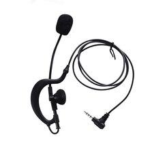 3.5mm Referee Headset Earhook Single headphone Microphone Speaker for Football Soccer Match Work Vnetphone V4 V6