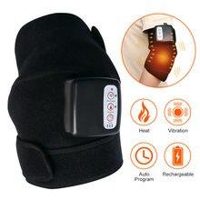 Joint joelho fisioterapia massageador efeito rápido aquecimento elétrico massageador alívio da dor reabilitação ferramenta de cuidados de saúde presente