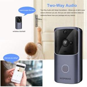 Image 5 - WIFI Türklingel Smart Home Drahtlose Telefon Tür Glocke Kamera Sicherheit Video Intercom 720P HD IR Nachtsicht Für Wohnungen