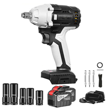 Impact-Wrench Socket-Sets Power-Tools 30000mah Cordless Electric Max-Torque Rechargeable
