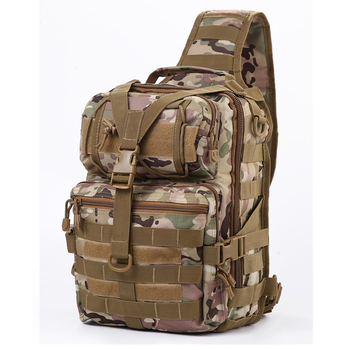 20L Tactical Assault Pack Big Military Sling Backpack Army Molle Waterproof EDC Rucksack Bag for Outdoor Hiking Camping Hunting 45l molle military tactical assault pack backpack army molle waterproof bug out bag small rucksack for outdoor hiking camping