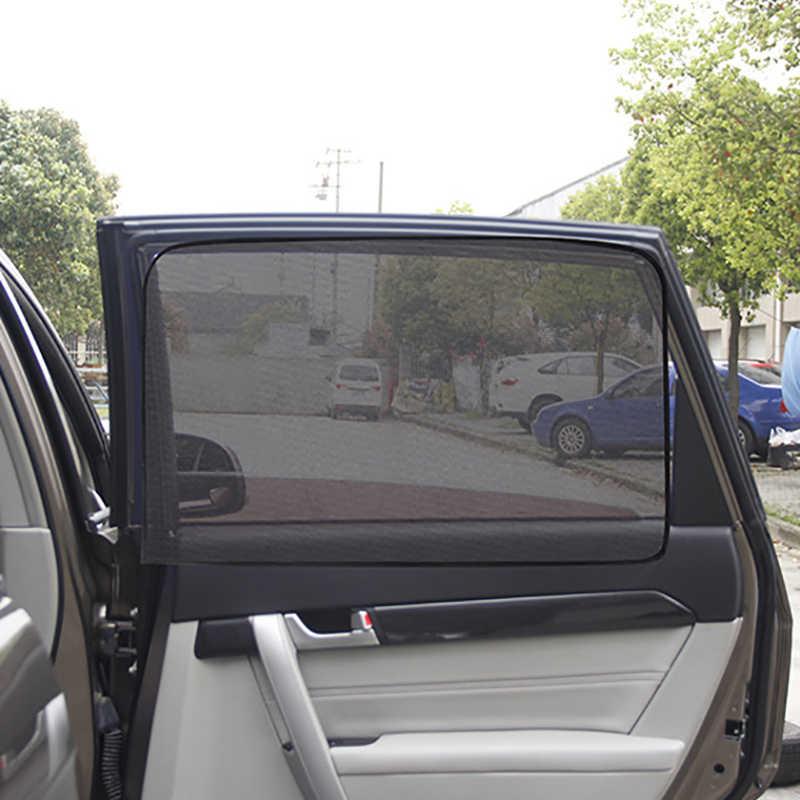 المغناطيسي سيارة الشمس الظل حماية للأشعة فوق البنفسجية الستار سيارة نافذة ظلة الجانب شبكة نافذة الشمس قناع الصيف حماية شباك الفيلم