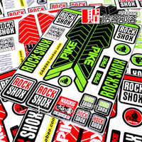 17 PIKE Rock Shox sticker Rockshox decals for Mountain Bike bicycle Front Fork MTB DH Racing Protect Film