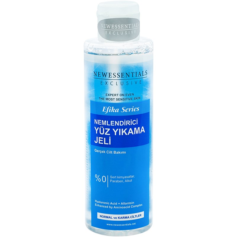 Newessentials Normal And Mixed Skin Face Cleaning Gel.