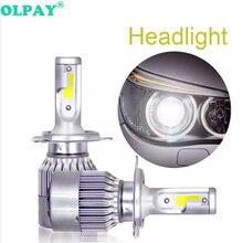 OLPAY Car Led Headlight Bulbs Lamp H4 H7 9003 HB2 H11 72W/pair  H1 H3 H8 H9 880 9005 9006 H13 9004 Auto Headlights 12V Light