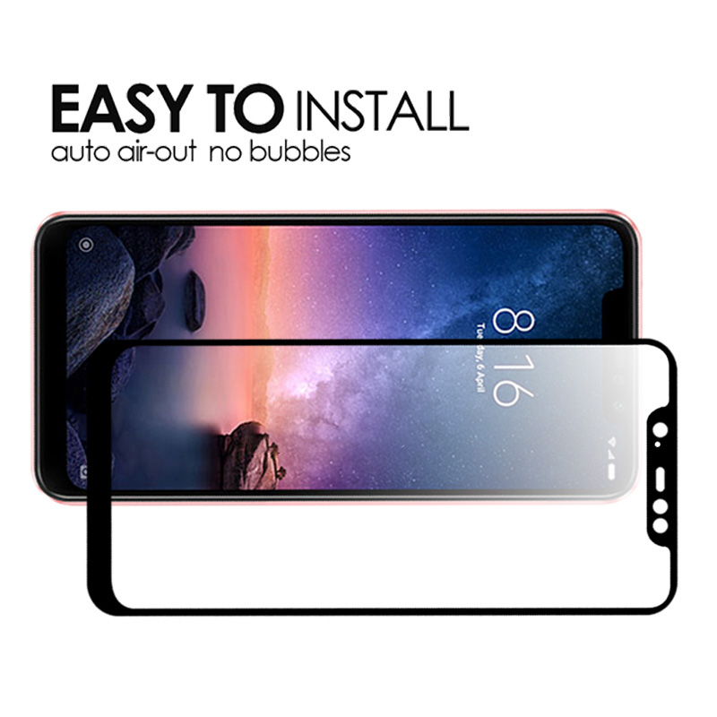 Nicotd Tempered Glass For Xiaomi Redmi Note 6 Pro 4X 4A 5A 5 Plus Screen Protector For Redmi 6A 6 Note 5A 5 Pro Full Cover Film (10)