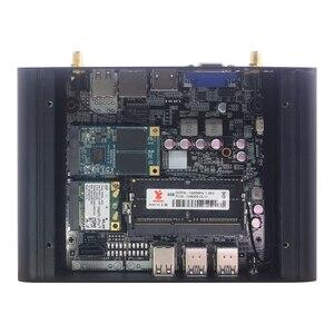 Image 5 - מיני מחשב 8 * USB Windows 10 DDR3L RAM Wifi Minipc Fanless Intel Core i3 4005U 4010Y i5 4210Y מיני comput