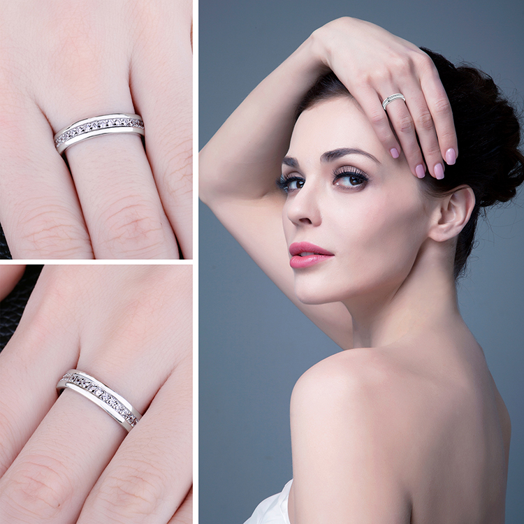 H6dde1b2d347b4ad8a1444495b651360fJ JewelryPalace CZ Wedding Rings 925 Sterling Silver Rings for Women Stackable Anniversary Ring Eternity Band Silver 925 Jewelry