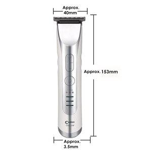 Image 4 - Codos mini máquina de cortar cabelo elétrica para salão de beleza homem profissional recarregável aparador de cabelo lâmina de aço inoxidável máquina de corte de cabelo
