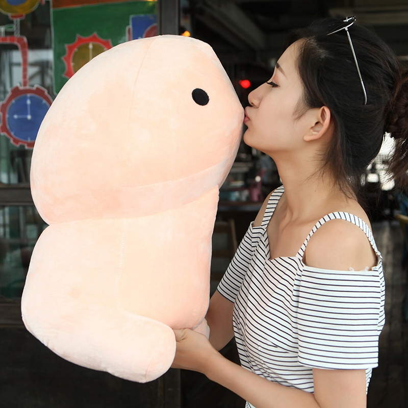 Plush Penis Toy Doll Soft Stuffed Creative Simulation Penis Pillow Cute Sexy Kawaii Toy