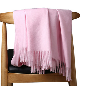 Image 5 - High Quality Cashmere Scarves For Women Men Thick Warm Winter Poncho Luxury Wool Pashmina Female Long Winter Scarf Shawl Stole