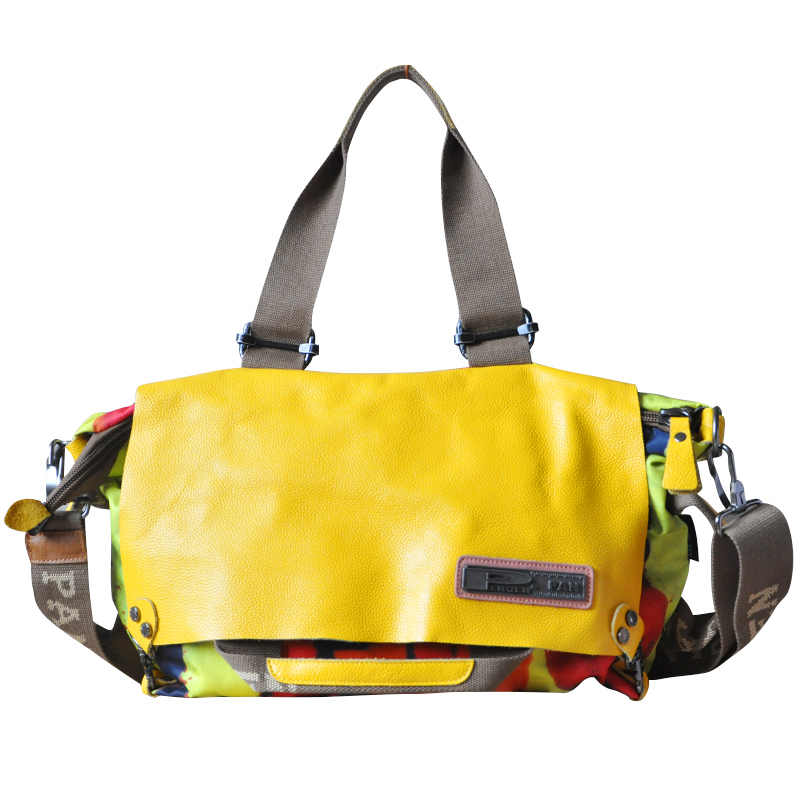 Women Genuine Leather Portable Shoulder Bag Large Capacity Fashion Handbag