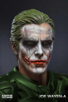 "Collectible 1/6 Scale European / American heroes Young master Batman Joker Makeup Model Head Carving fit 12"" Male body Model Toy - DISCOUNT ITEM  26 OFF Toys & Hobbies"