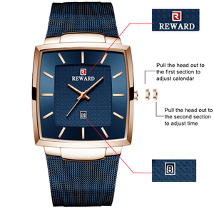 Image 3 - Relogio Masculino 2020 Mens שעונים למעלה מותג יוקרה עסקים גדול זכר שעוני יד עמיד למים מינימליסטי כיכר שעון גברים 2020