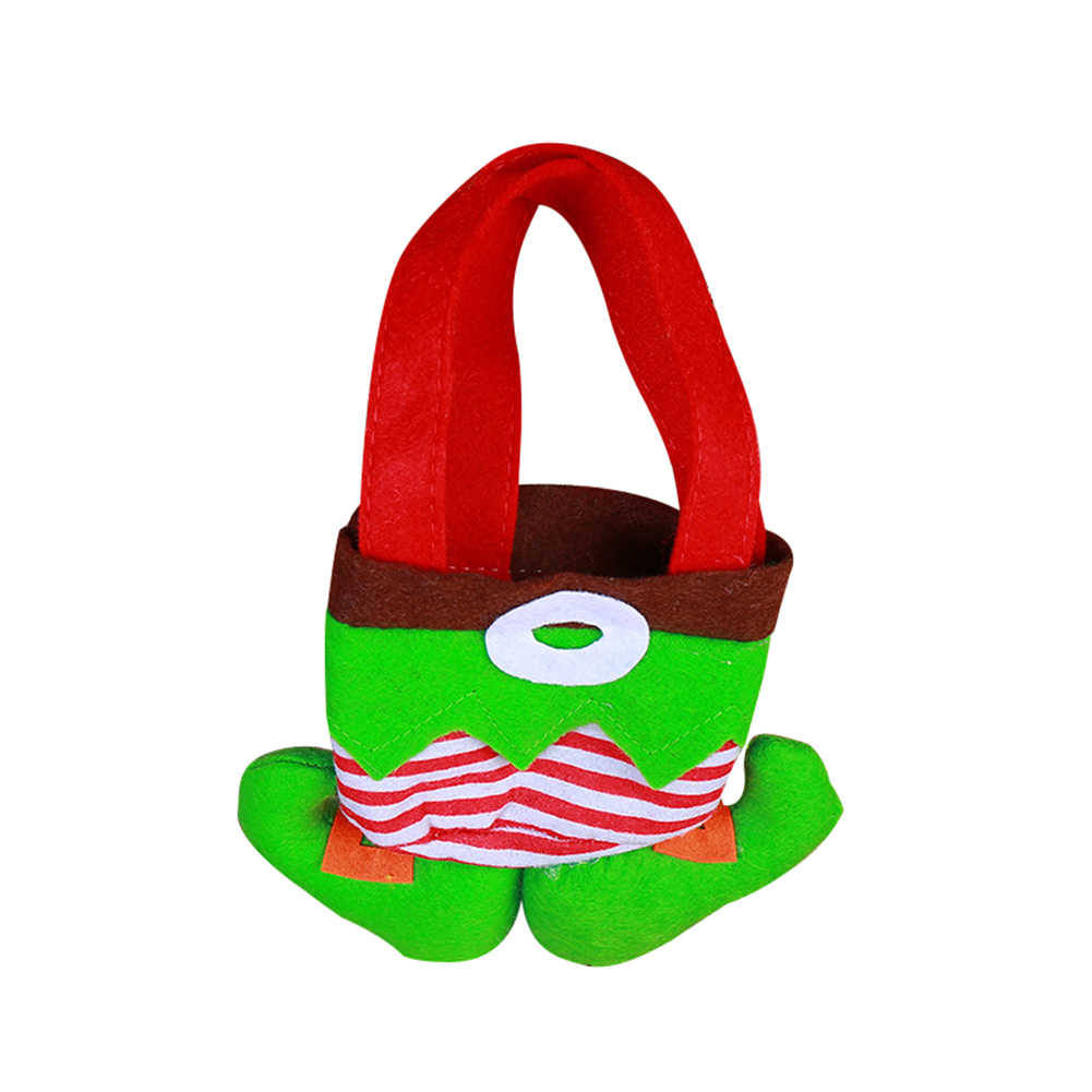 Boże narodzenie Clown ducha przewodnik spodnie cukierki torba na prezent Xmas drzewa wiszące wisiorek