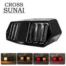 цена на For Honda MSX125 MSX 125 SF 2007 2008 2009 2010 2011 2012 2013 2014 Motorcycle Rear LED Tail Light Brake Turn Signals Integrated