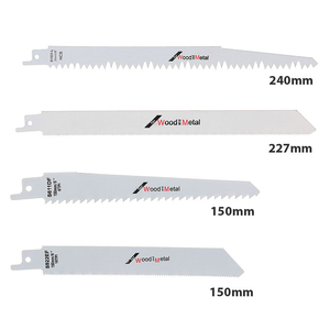 Image 4 - 8*Garden Woodworking Tools For Makita Hitach Reciprocating Saw Blades Wood Metal Cutter Blade Parts 611DF/S922EF/S1122HF/S1531 L