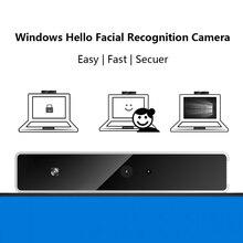 Cámara web con reconocimiento Facial, USB, tipo externo, Windows Hello, IR, 1080P, HD, para videollamadas, Compatible con Windows 10