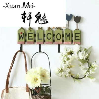 American country wooden crafts hook up home decoration hanging hanging wall decoration kids room kids room decoration girls