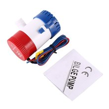 High Flow Widely Use Water Bilge Pump 1100GPH Professional For Submersibles Boats Seaplane Motor Homes Houseboats 12V