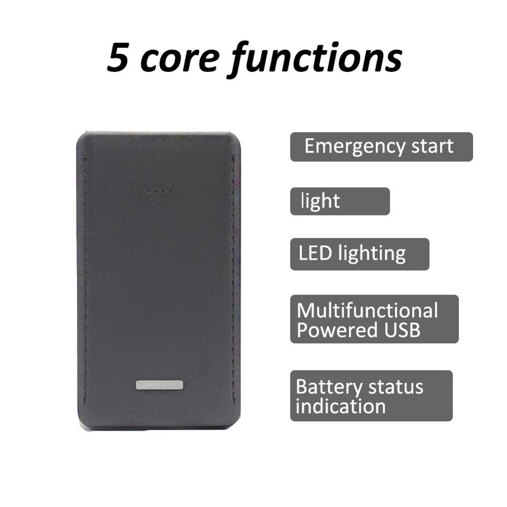 cheapest 8000mah Car Jump Starter Starting Device Battery Power Bank 400A Jumpstarter Auto Buster Emergency Booster Car Charger