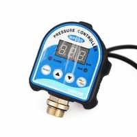 """Digital Pressure Control Switch WPC-10,Digital Display WPC 10 Eletronic Pressure Controller for Water Pump With G1/2"""" Adapter"""