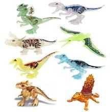 Конструктор Динозавры юрского периода тираннозавр виверн Велоцираптор