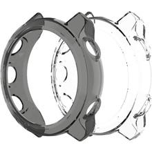 TPU ป้องกันสำหรับ Garmin Forerunner 245 245M 645 645M ป้องกัน Shell สมาร์ทนาฬิกาสร้อยข้อมือ Protector ฝาครอบ