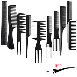 Stylist Anti-static Hairdressing Combs,Multifunctional Hair Design Hair Detangler Comb Makeup Barber Haircare Styling Tool Set