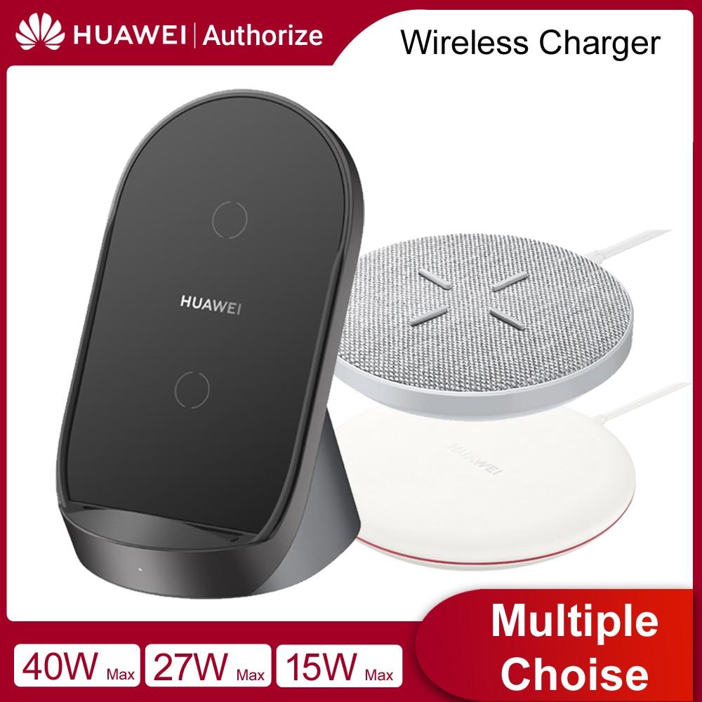 Беспроводное зарядное устройство Huawei SuperCharge 15 Вт 27 Вт 40 Вт, зарядное устройство для Huawei Mate 30 Pro, iPhone 12, iPhone11, Samsung S12