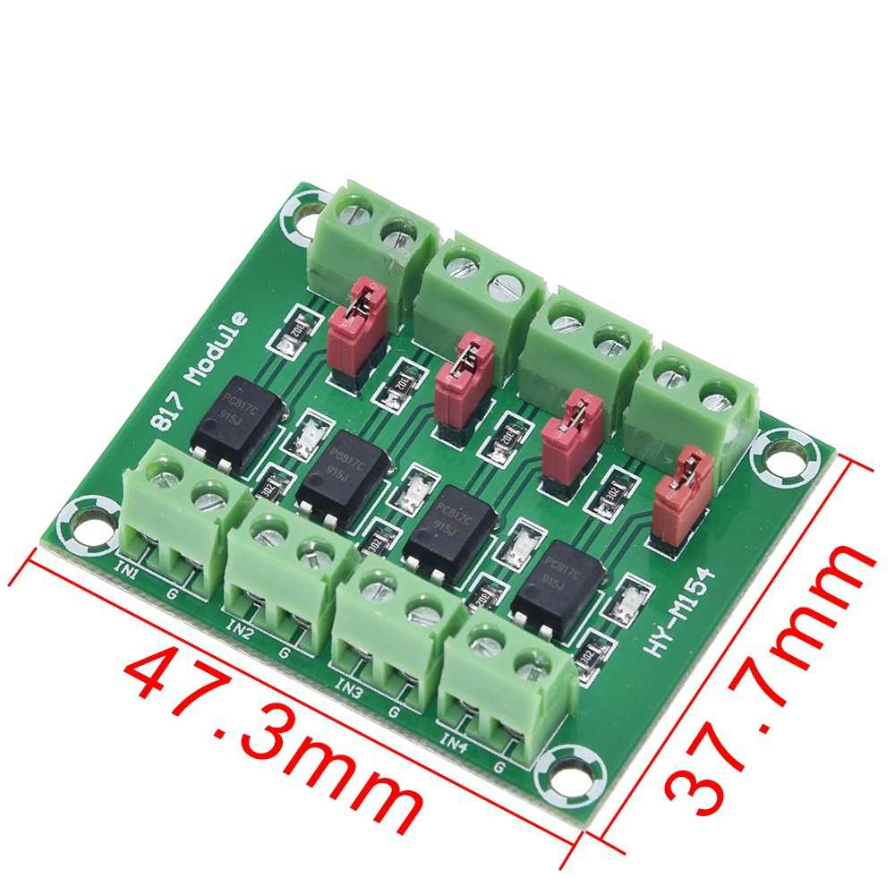 PC817 Isolation Driving Module 4-Channel Voltage Converter Module Optocoupler FR