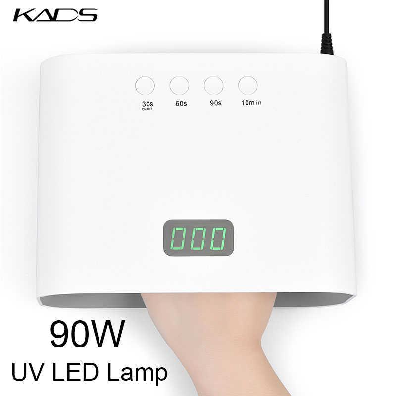 48W Móng Tay Đèn Sấy Gel Ba Lan 30 Pcs LED UV Máy Sấy Móng Tay Nhanh Chóng Đóng Rắn Với Chuyển Động Cảm Ứng bộ Dụng Cụ Làm Móng Tay Đèn Cho Tất Cả Gel
