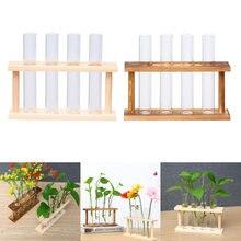 2x стеклянная пробирка для растений Террариум цилиндр прозрачная