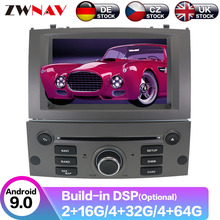 цена на Android 9 GPS Navigation Car Radio Player  For Peugeot 407 2004 2005 2006 2007 2008 2009 2010 Radio Head Unit Multimedia Player