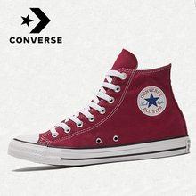 Оригинальные Классические женские кроссовки Converse- All Star для скейтборда, мужские кроссовки, нейтральная повседневная обувь, холщовые кроссо...