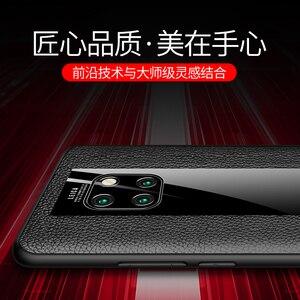 Image 4 - אופנה מקרה עבור Huawei Mate 20 RS פורשה עיצוב זכוכית מראה מקרה הגנת כיסוי מעטפת עבור Huawei Mate RS פורשה עיצוב