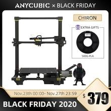 Anycubic Chiron drukarka 3D Plus rozmiar TFT auto poziomowanie wytłaczarka podwójny Impressora zestaw do drukarki 3D DIY gadżet 3d Drucker