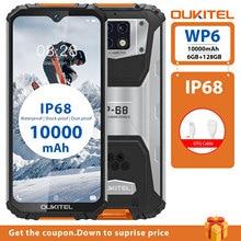 OUKITEL WP6 6G RAM 128G ROM 10000mAh Battery 6.3