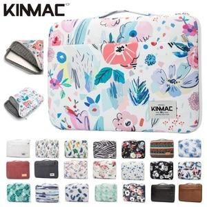 """Image 1 - 2020 marka Kinmac torba na laptopa 12 """",13"""",14 """",15"""",15.6 """", odporny na wstrząsy Lady Man rękaw Case dla MacBook Air Pro 13.3 teczka Dropship"""