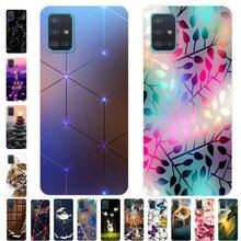 Für Coque Samsung Galaxy A71 A51 M31 Fall M31S Weiche Silikon Zurück Fall für Samsung A71 M31S Abdeckung EINE 51 stoßfest fall M31 Abdeckung