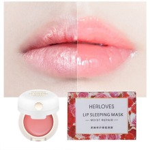 Lip Sleeping Mask 12g Night Lip Mask Maintenance Hydrating Lip Balm the Pink Lips Bleaching Cream Nourishing Lips Care Mask