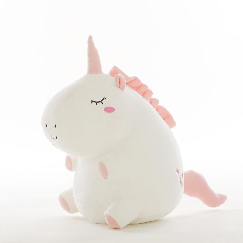25cm Cute Unicorn Plush Doll Toy Stuffed &Plush Animal Baby Toys Baby Accompany Sleep Toys For Children Students Birthday Gifts